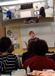 Linda Kemp Teaching at CMW